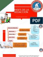 FASES DE LA REDACCIÓN grupo 1