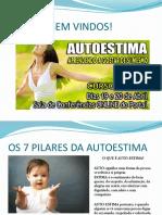 OS 7 PILARES DA AUTOESTIMA