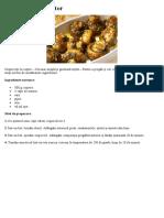 Ciupercuțe la cuptor