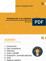 Introduccion a la logistica y SCM