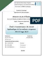Etude et maintenance du circuit hydraulique de la rouleuse croqueuse PICOTtype RCS.pdf