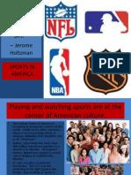 Sports in the U.S. Presentation