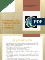 Administracion publica regional