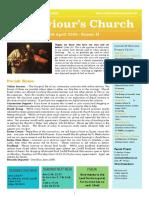 st saviours newsletter - 19 april 2020 easter ii