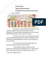 CUENTO PROFE REGINA PARA DIA LUNES 07 DE ABRIL