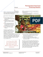 Fresh Food Financing Initiative Comprehensive