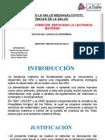 CALIDAD  DE  ATENCIÓN  ENFOCADO LA LACTANCIA MATERNA oficial