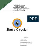Informe Sierra Circular