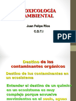 Clase 4- Contaminantes Orgánicos II
