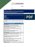 Autoevaluacion del Sistema de Control Interno de un Proceso de Tesoreria