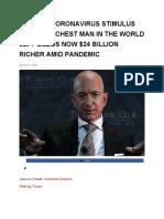 jeff bezo richest man in world