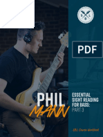 Essential Sight Reading for Bass - Part 3