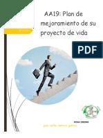 PLAN DE MEJORAMIENTO DE SU PROYECTO DE VIDA