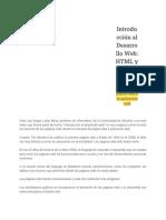 Parte I - 1.1 Evolución de la Web