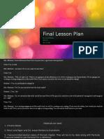 final lesson plan abc