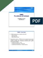 Instalação do PNMT