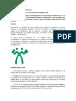 CODIGO DE ETICA DEL ADMISTRADOR