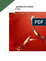 Descarga gratuita de Adobe Acrobat XI Pro.docx