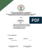 SERVICIOS DE UBICACION