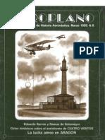 Revista Aeroplano número 06 del año 1989