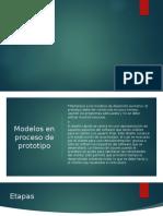 Modelo en proceso de prototipo