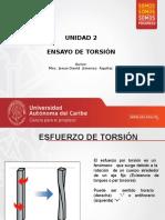 ENSAYO DE TORSIÓN