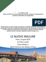 le nuove insuline Lucotti