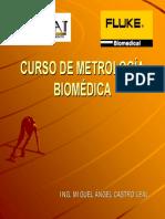 CURSO DE METROLOGÍA BIOMÉDICA