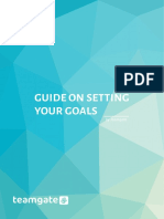 Guide On Setting Your Goals by Teamgate