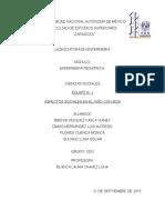CIENCIAS SOCIALES TEMA 7, ASPECTOS SOCIALES EN EL NIÑO CON SIDA