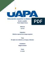 didactica de la lengua española terminada