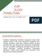 1.PRAKTIKUM METODOLOGI PENELITIAN TLM