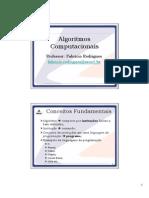 Algoritmos 2007-1 - Conceitos Fundamentais