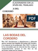 6ª CLASE (SEGUNDO PARCIAL) LAS BODAS DEL CORDERO.