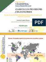 Negocios Inclusivos en FEDEPALMA - ACastro