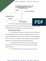 Jarrod Massey Plea Agreement
