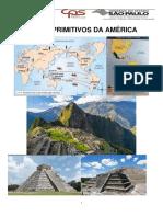 APOSTILA - POVOS PRIMITIVOS DA AMÉRICA - 1º EM SERVIÇOS JURÍDICOS - 4º BIMESTRE DE 2019