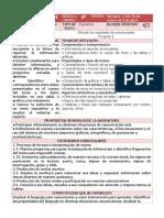 3er Grado Español (2019-2020)