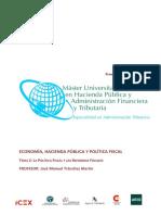 Tema 2. Politica fiscal