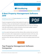 Best Property Management Software 2019