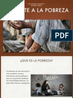 combatir la pobreza