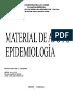 Material de Apoyo Epidemiología