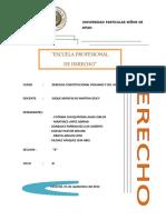 DERECHO CONSTITUCIONAL PERUANO