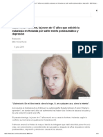 Muere Noa Pothoven, la joven de 17 años que solicitó la eutanasia en Holanda por sufrir estrés postraumático y depresión - BBC News Mundo.pdf