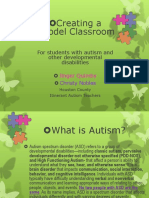 creating a model autism classroom ppt