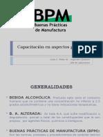 Capacitación en aspectos generales de BPM