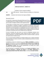 Circular JSN 6 - Celebracion Centenario de Insignia de Madera - 2019