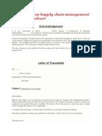 Term paper on SCM of Unilever.docx