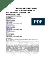 EL VOLUNTARIADO UNIVERSITARIO Y