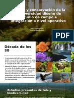 Natural y conservación de la biodiversidad diseño de